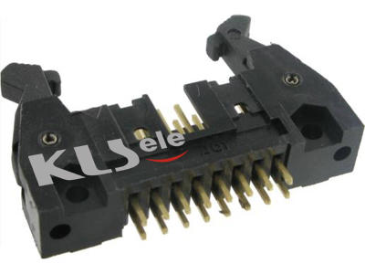 KLS1-201X 2.54mm Pitch Latch Header Connector