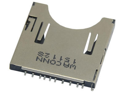 KLS1-SD-101S PUSH H2.9mm SD Card Connector