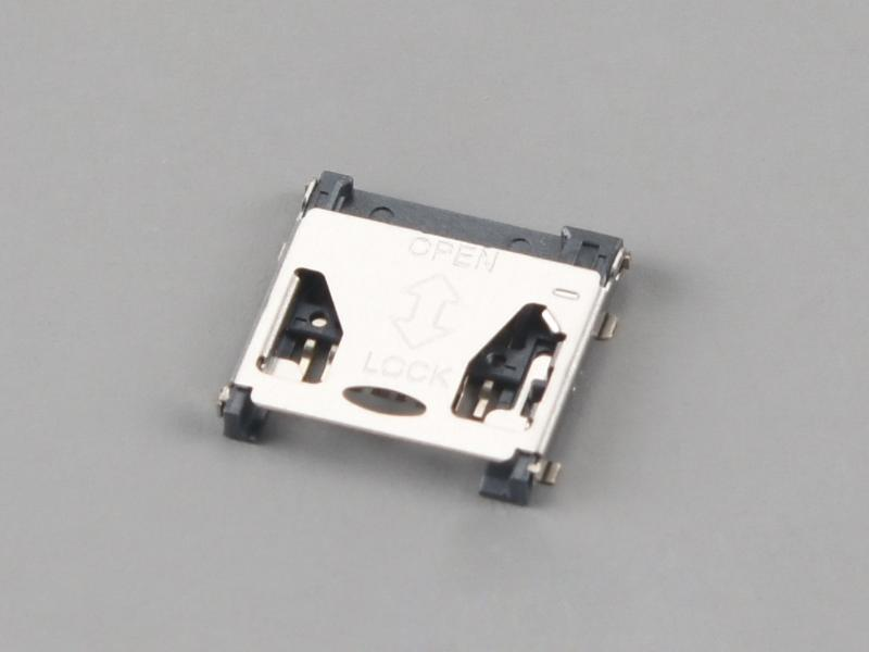 KLS1-TF-017 H1.9mm Hinged Type Micro SD Card Connector