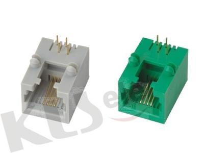 KLS12-310-6P PCB Modular Jack RJ11/RJ12/RJ14/RJ25(53SERIES) KLS12-310-6P