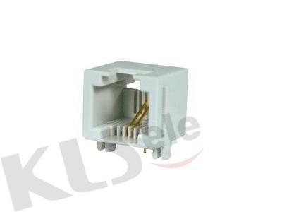 KLS12-317-6P Mini PCB Modular Jack (53 SERIES)