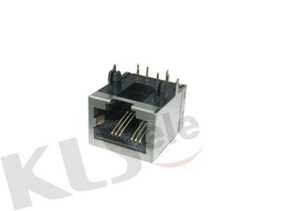 KLS12-316-10P RJ50 PCB Modular Jack Shield (53SERIES)