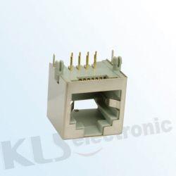 KLS12-121-6P Modular Jack Shield RJ11/RJ12/RJ14/RJ25 (55SERIES)