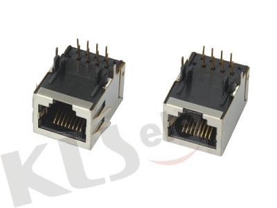 KLS12-117-10P PCB Modular Jack Shield RJ50 (56SERIES)
