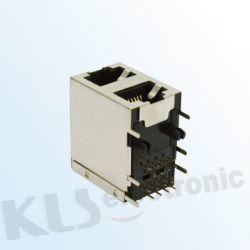 KLS12-101 Dual Modular Jack Shield RJ45 (59 SERIES)