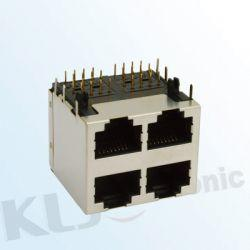 KLS12-102 Stackde Modular Jack Shield RJ45 (59 SERIES)