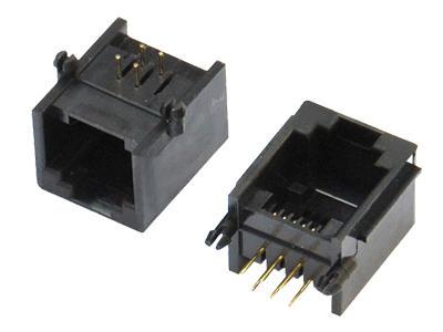 KLS12-125-6P6C PCB Modular Jack