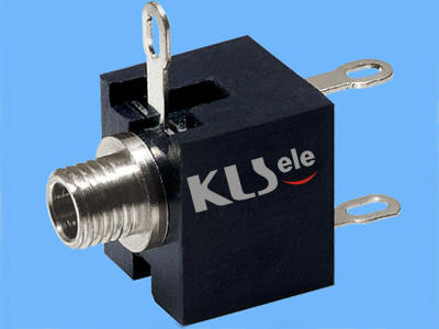 KLS1-TG2.5-001A    2.5mm Mono Audio Jack For Panel Mount
