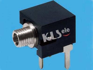 KLS1-TG2.5-002A   2.5mm Mono Audio Jack For Panel Mount