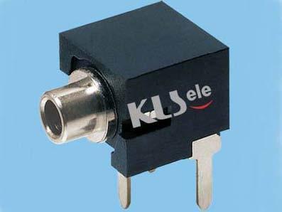 KLS1-TG2.5-002B  2.5mm Mono Audio Jack For Panel Mount