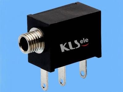 KLS1-TG2.5-003A   2.5mm Mono Audio Jack For Panel Mount