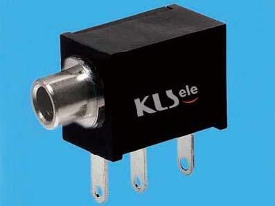 KLS1-TG2.5-003B   2.5mm Mono Audio Jack For Panel Mount