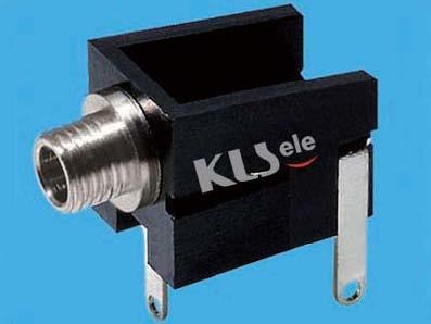 KLS1-TG2.5-004A  2.5mm Mono Audio Jack For Panel Mount