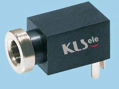 KLS1-TG2.5-006B   2.5mm Mono Audio Jack For PCB Mount