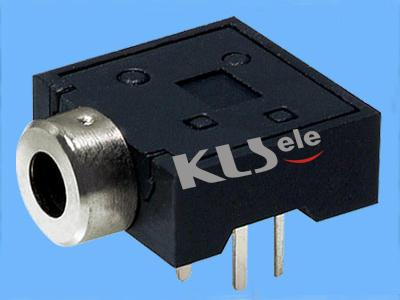 KLS1-TSJ2.5-007A   2.5mm Stereo Audio Jack For PCB Mount