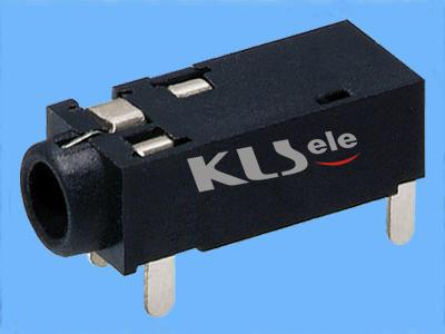 KLS1-SSJ2.5-001   2.5mm Stereo Audio Jack For PCB Mount