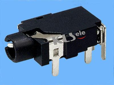 KLS1-SSJ2.5-002  2.5mm Stereo Audio Jack For PCB Mount