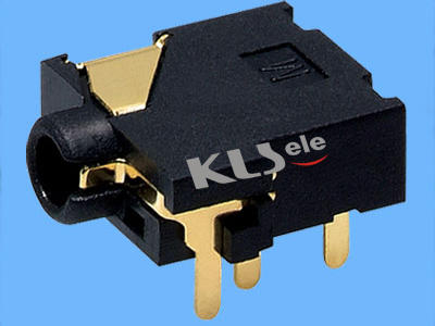 KLS1-SSJ2.5-003  2.5mm Stereo Audio Jack For PCB Mount