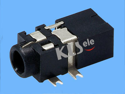 KLS1-SPJ2.5-001  2.5mm SMT Stereo Audio Jack