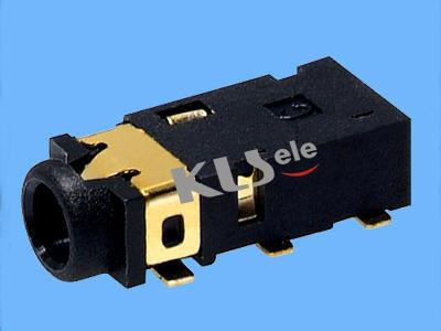 KLS1-SPJ2.5-002  2.5mm SMT Stereo Audio Jack