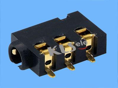 KLS1-SPJ2.5-007   2.5mm SMT Stereo Audio Jack