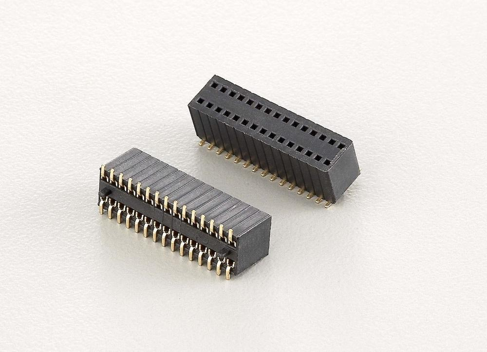 KLS1-208D 1.27x2.54mm Pitch Female Header Connector,Height: 4.6mm, 5.8mm, 8.5mm