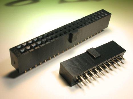 KLS1-219X 2.54mm Pitch High 8.4mm key dip 180 Female Header Connector
