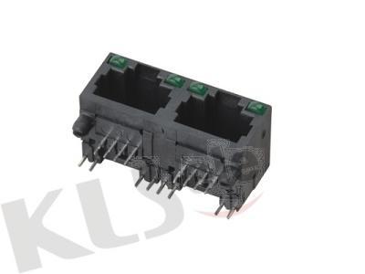 KLS12-315-8P-1X2 RJ45 Modular Jack With LED