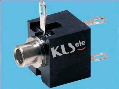 KLS1-TG3.5-001B    3.5mm Mono Phone Audio Jack