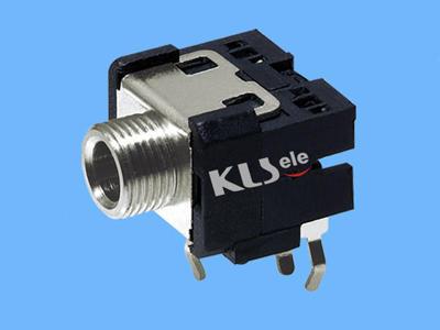 KLS1-TSJ3.5-003A   3.5mm Mono Phone Audio Jack