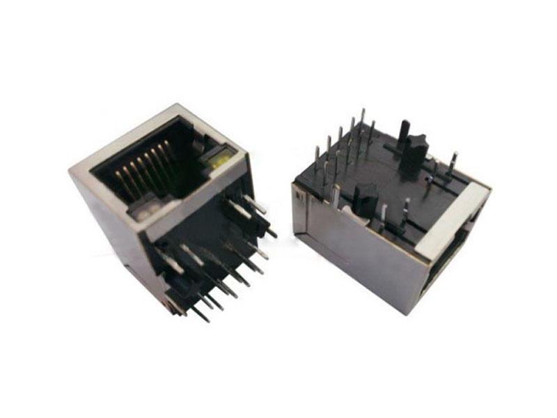 KLS12-TL052 10/100/1000 BASE 1x1 Tab-Down RJ45