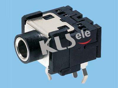 KLS1-TSJ3.5-003C  3.5mm Mono Phone Audio Jack