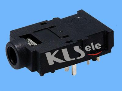 KLS1-TSJ3.5-005B  3.5mm Mono Phone Audio Jack