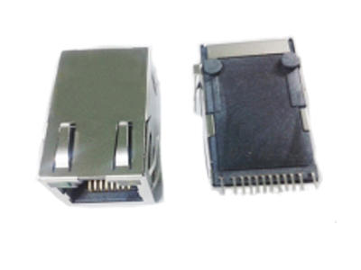 KLS12-TL061 RJ45 Modular Jack 1x1 Tab-UP 100BASE