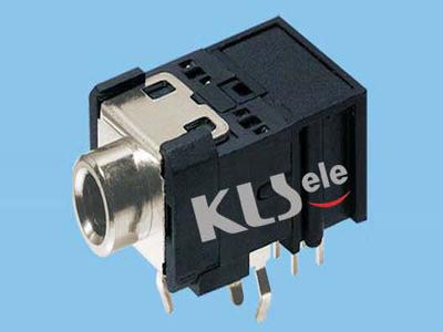 KLS1-TSJ3.5-010B  3.5mm Mono Phone Audio Jack