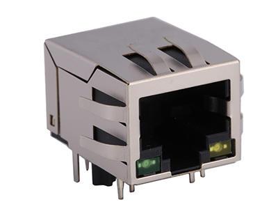 KLS12-TL010 100 Base 1x1 Tab-down RJ45