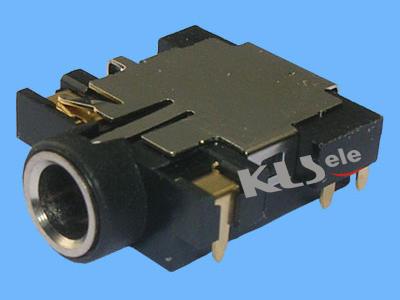 KLS1-TPJ3.5-011   SMD 3.5mm Stereo Audio Jack