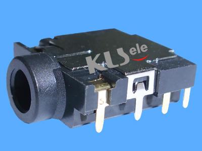 KLS1-TPJ3.5-012   SMD 3.5mm Stereo Audio Jack