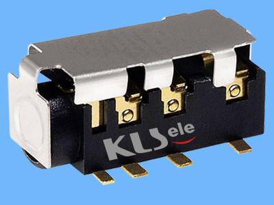 KLS1-SPJ3.5-004    SMT 3.5mm Stereo Audio Jack