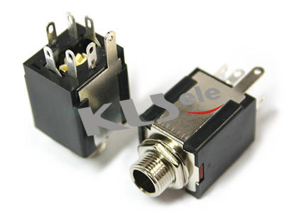 KLS1-TG-6.3-005B      6.3mm Phone Audio jack