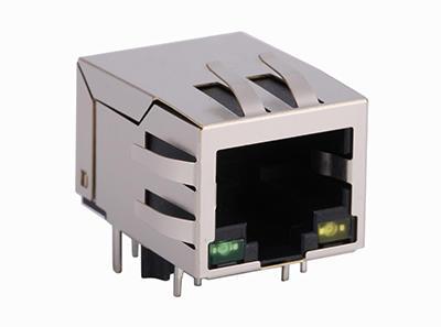 KLS12-TL129 100 Base 1x1 Tab-Down RJ45