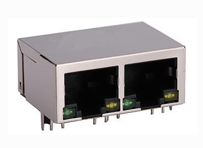 KLS12-TL159 100 Base 1x2 Tab-Down RJ45