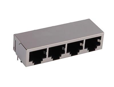 KLS12-TL171 1000 Base 1x4 Tab-Down RJ45