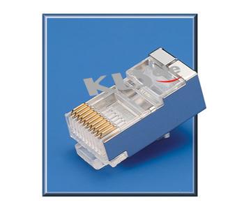 KLS12-RJ46B-10P Modular Plug Shield RJ50