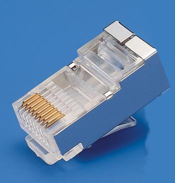 KLS12-RJ45B-8P Modular Plug Shield RJ45