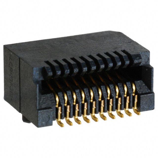 KLS12-SFP-04 20Pin SMD SFP Connector 15U Gold