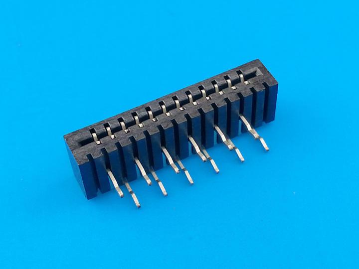 KLS1-240B 1.0mm Dual Contact NO-ZIF Type H=4.4mm FFC/FPC Connectors