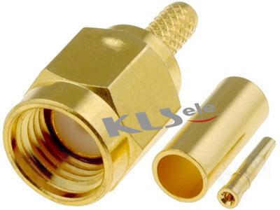 KLS1-SMA014 SMA Cable Connector (Plug,Female,50Ω)