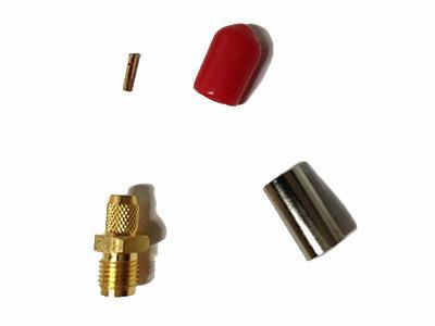 KLS1-SMA033 Panel Mount SMA Connector (Jack,Female,50Ω)