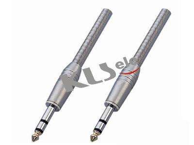 KLS1-PLG-007A  6.3mm Stereo Audio Plug